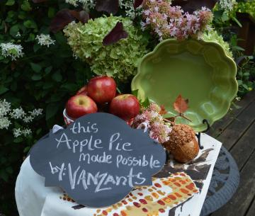 It's apple time in the Ozarks! Vanzant's has fresh from our orchards; Jonathan, Red Delicious, Gala, and Jona Gold. For a short time, we will also have pears. Our apples make the best apple pies!
